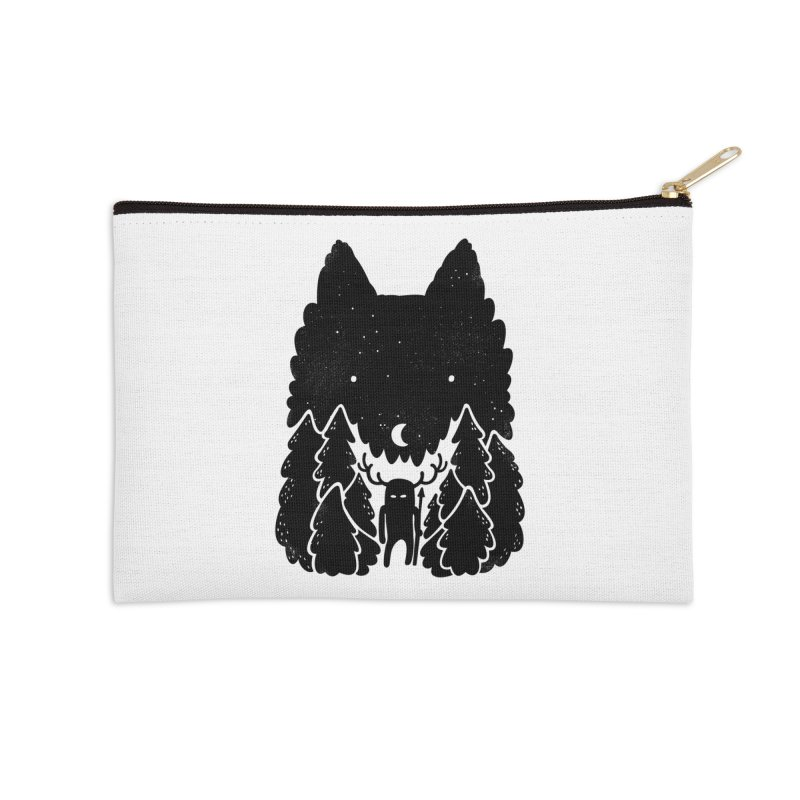 Amarok Accessories Zip Pouch by Jayme T-shirts