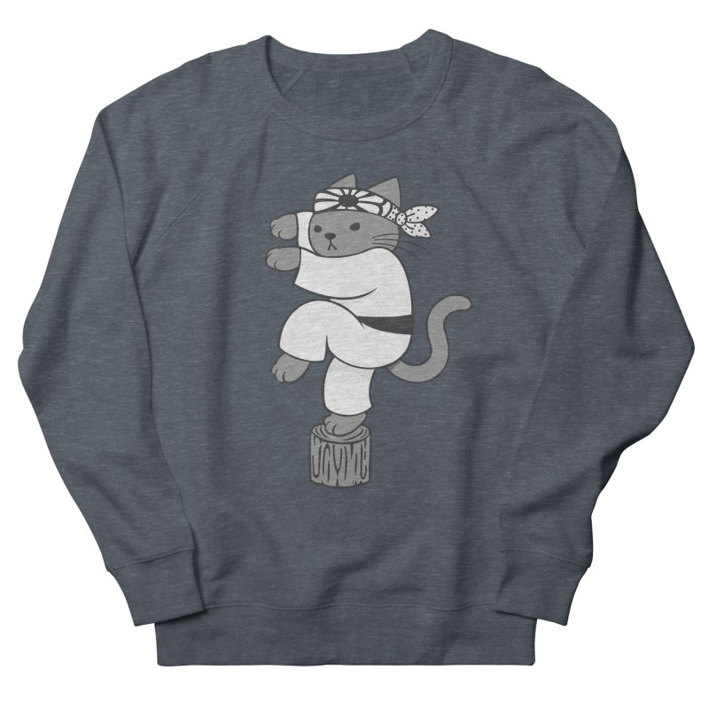 the Karate Cat Women's Sweatshirt by Jayme T-shirts
