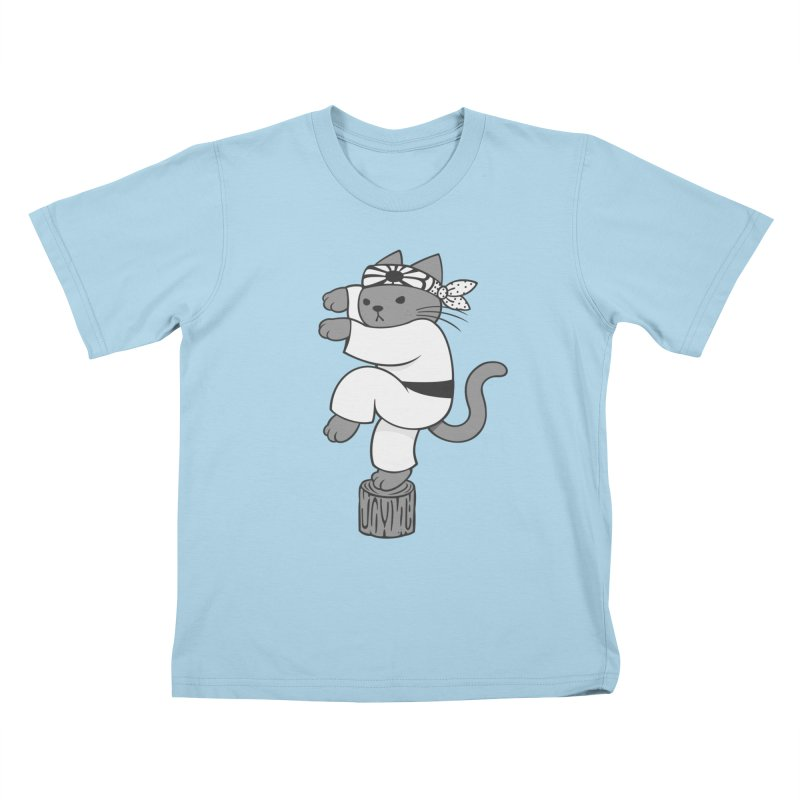 the Karate Cat   by Jayme T-shirts