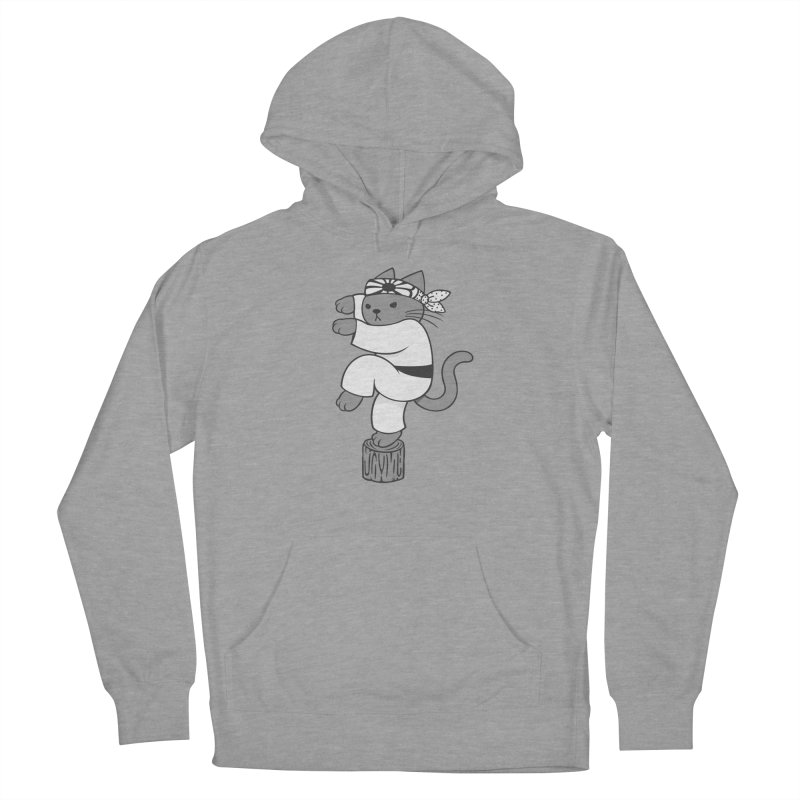 the Karate Cat Women's Pullover Hoody by Jayme T-shirts