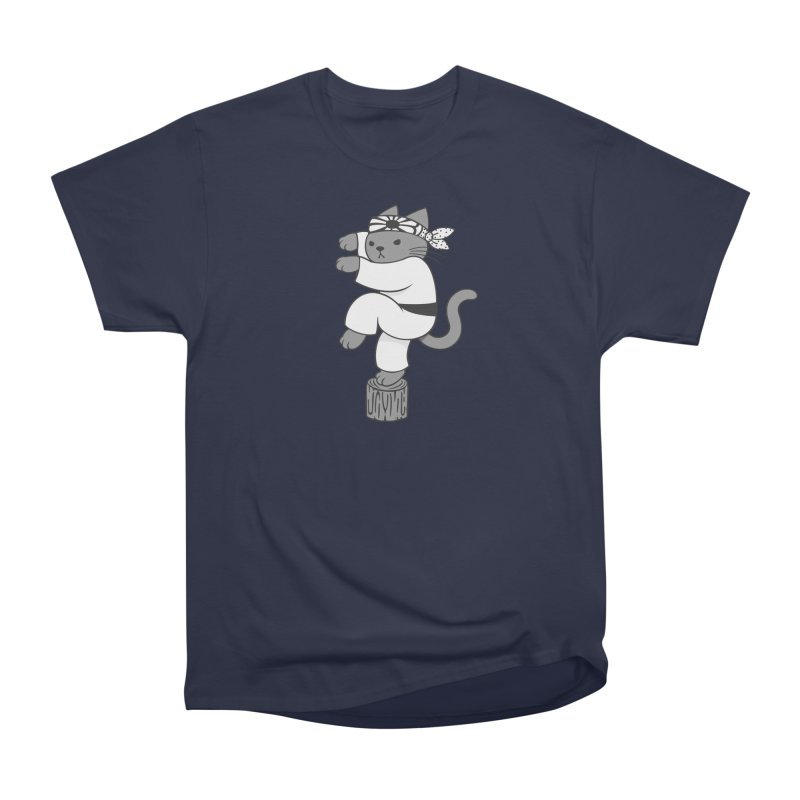 the Karate Cat Men's Classic T-Shirt by Jayme T-shirts