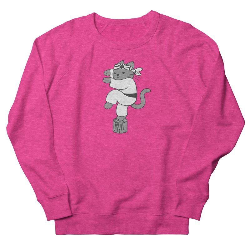 the Karate Cat Men's Sweatshirt by Jayme T-shirts