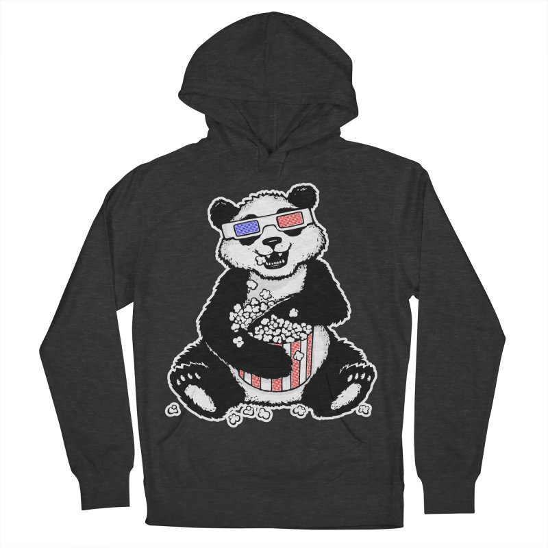 3-D Panda Women's Pullover Hoody by Jayme T-shirts