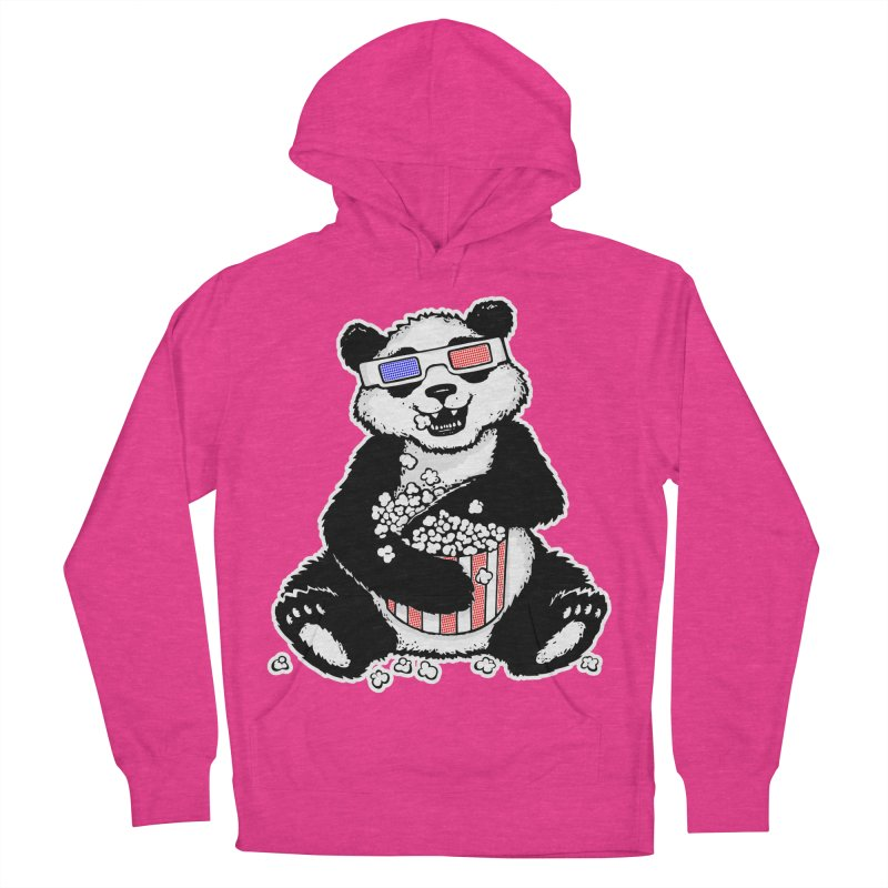 3-D Panda Men's Pullover Hoody by Jayme T-shirts