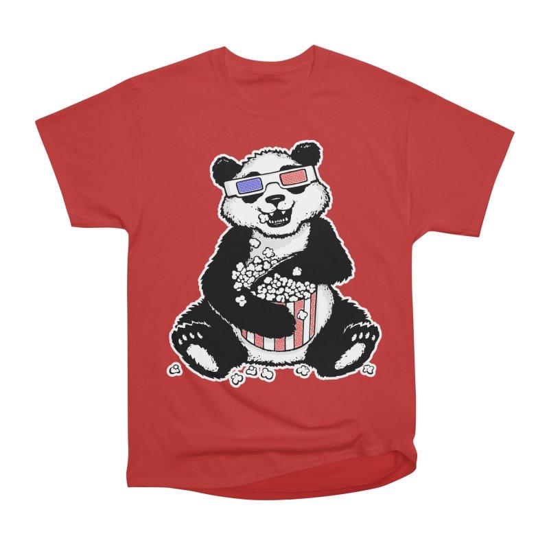 3-D Panda Men's Classic T-Shirt by Jayme T-shirts