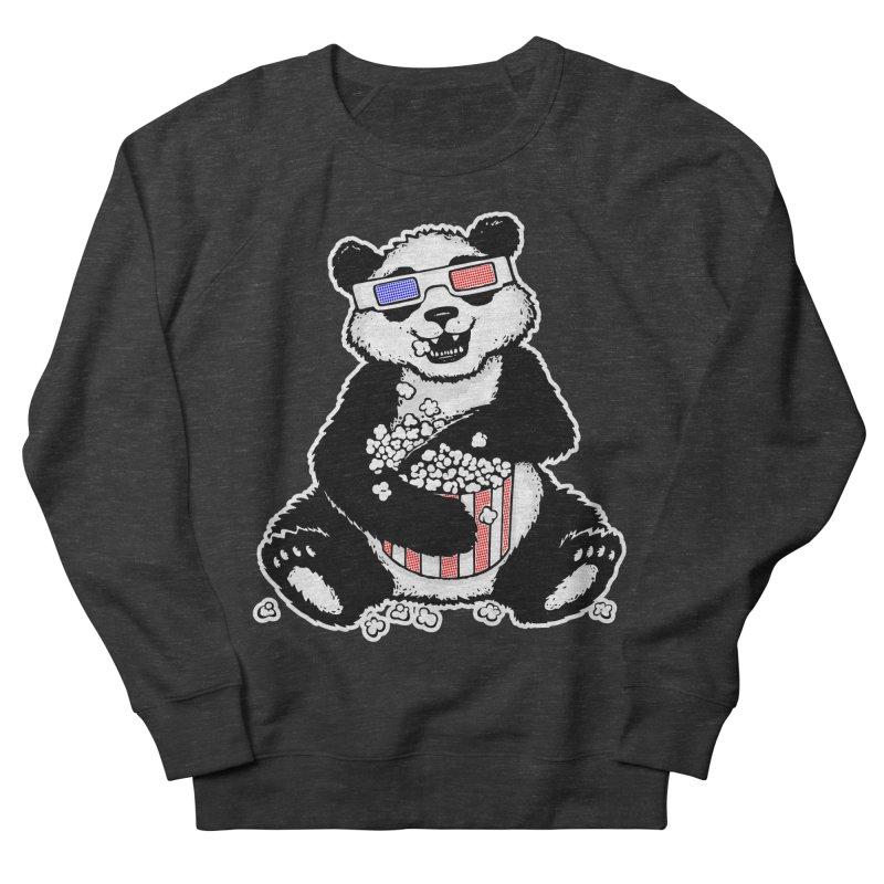 3-D Panda Women's Sweatshirt by Jayme T-shirts