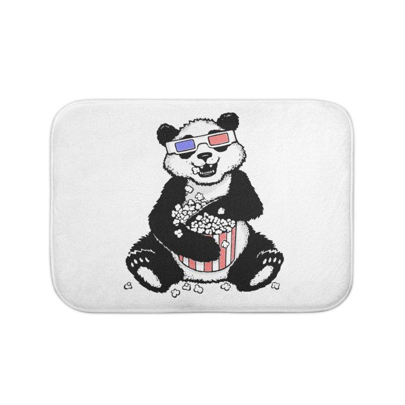 3-D Panda Home Bath Mat by Jayme T-shirts