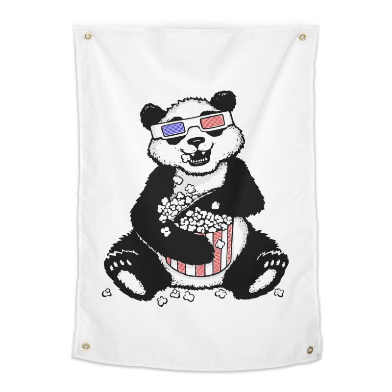3-D Panda Home Tapestry by Jayme T-shirts