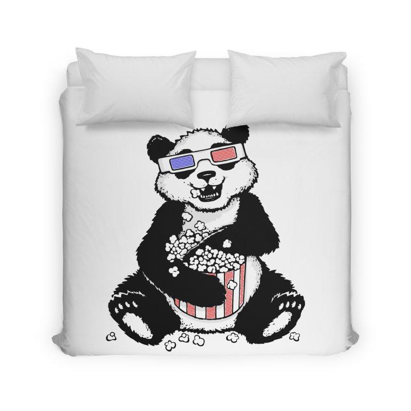 3-D Panda Home Duvet by Jayme T-shirts