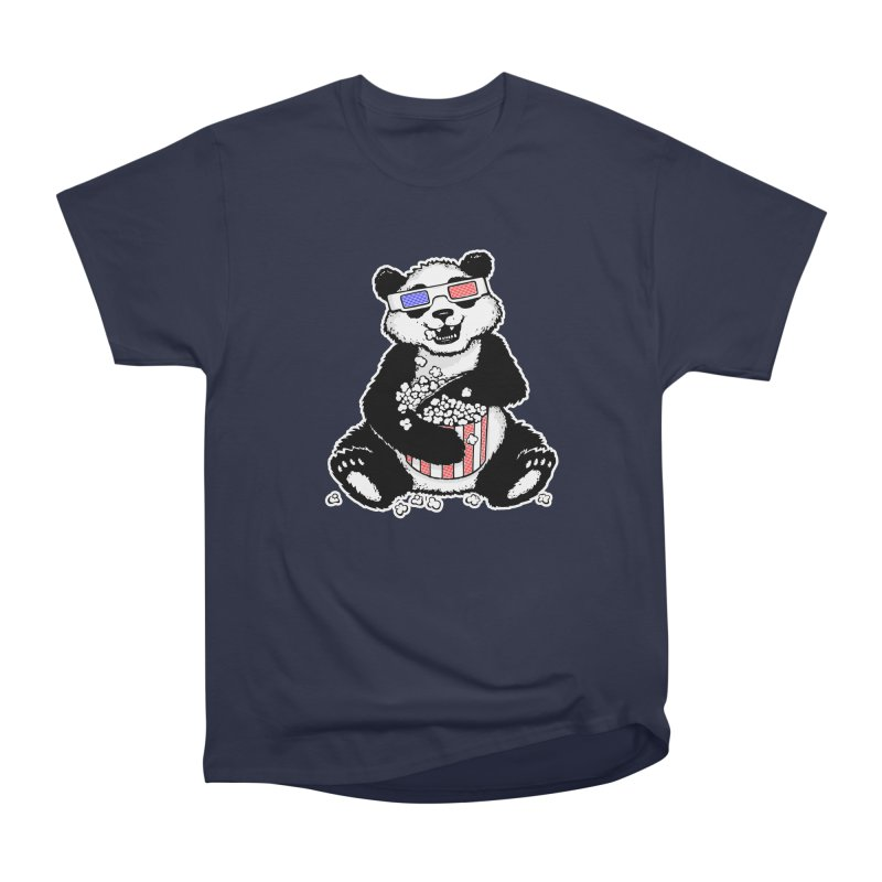 3-D Panda Women's Classic Unisex T-Shirt by Jayme T-shirts