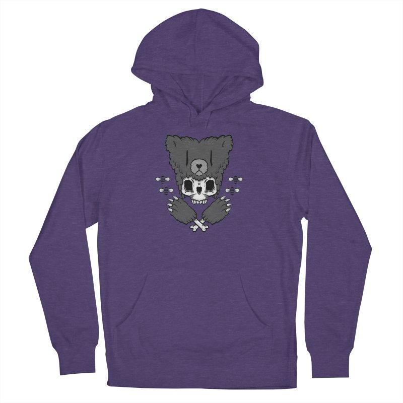 Bear Skull (smaller print) Women's Pullover Hoody by Jayme T-shirts