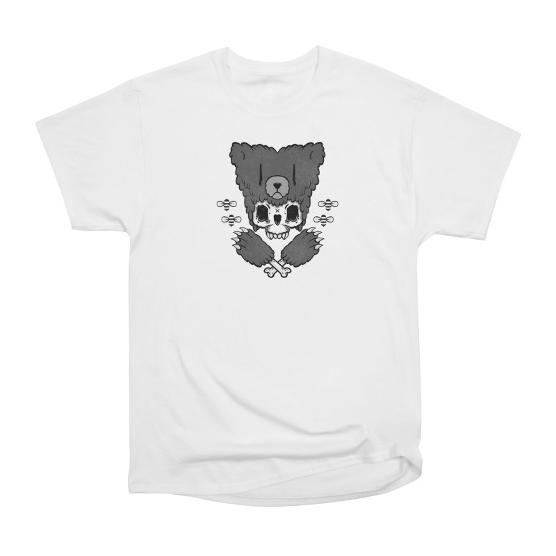 Bear Skull (smaller print) Men's Classic T-Shirt by Jayme T-shirts