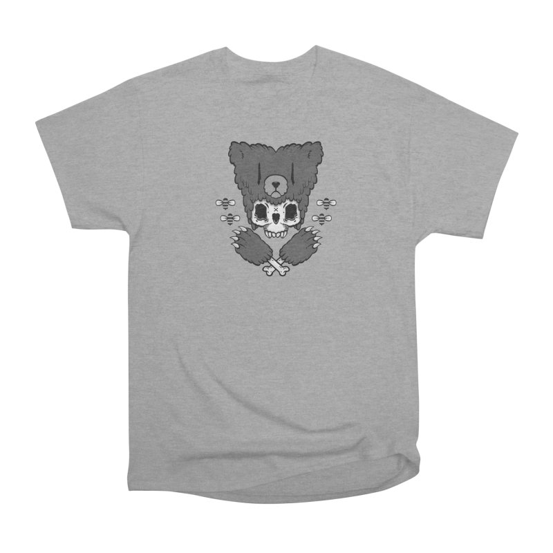Bear Skull (smaller print) Men's Classic T-Shirt by Jayme T-shirts