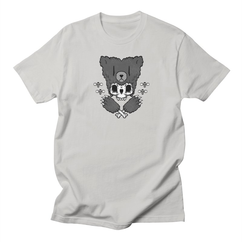 Bear Skull (smaller print) Men's T-shirt by Jayme T-shirts