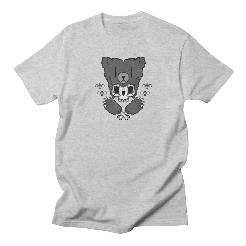 Bear Skull (smaller print) Women's Unisex T-Shirt by Jayme T-shirts