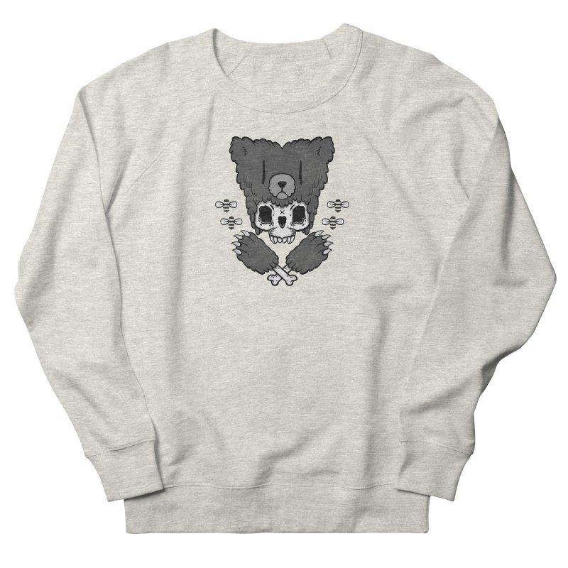 Bear Skull (smaller print) Men's Sweatshirt by Jayme T-shirts