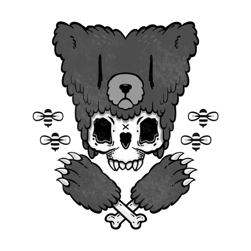 Bear Skull   by Jayme T-shirts
