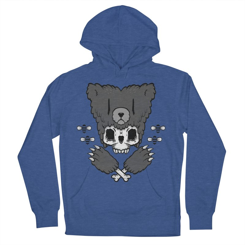 Bear Skull   Women's Pullover Hoody by Jayme T-shirts