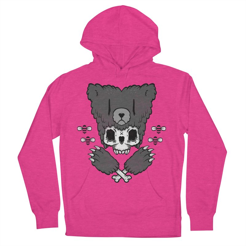 Bear Skull   Men's Pullover Hoody by Jayme T-shirts