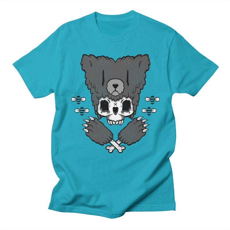 Bear Skull   Men's T-shirt by Jayme T-shirts