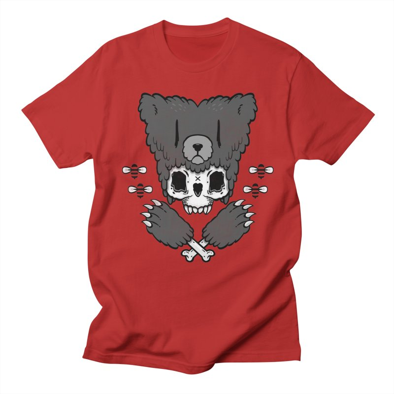 Bear Skull   Women's Unisex T-Shirt by Jayme T-shirts