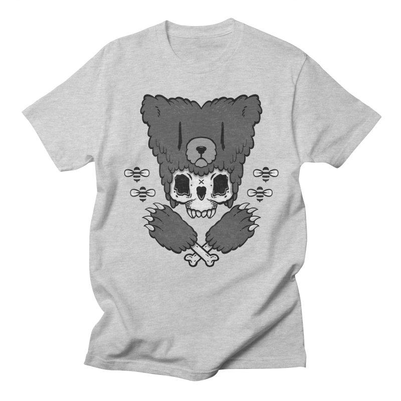 Bear Skull   Women's Unisex T-Shirt by Jayme T-shirts