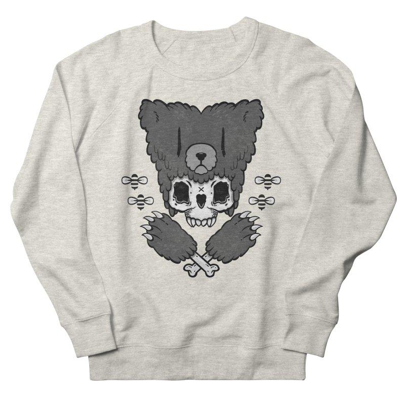 Bear Skull   Men's Sweatshirt by Jayme T-shirts