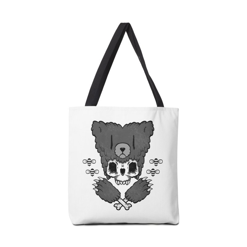 Bear Skull   Accessories Bag by Jayme T-shirts