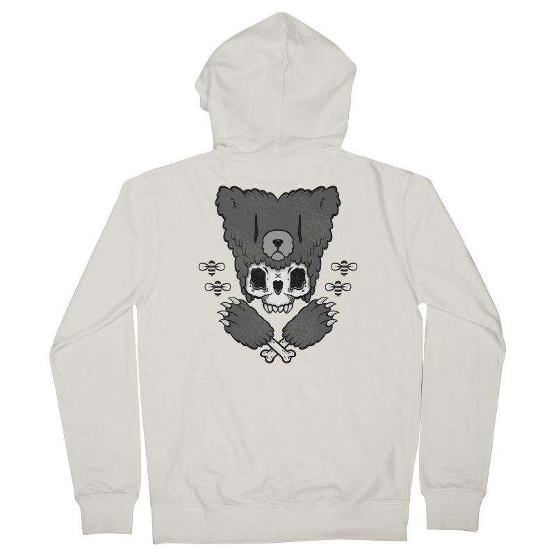 Grizzzly Women's Zip-Up Hoody by Jayme T-shirts