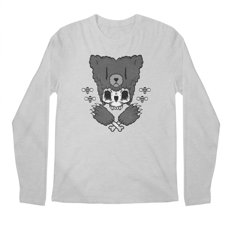 Grizzzly Men's Longsleeve T-Shirt by Jayme T-shirts