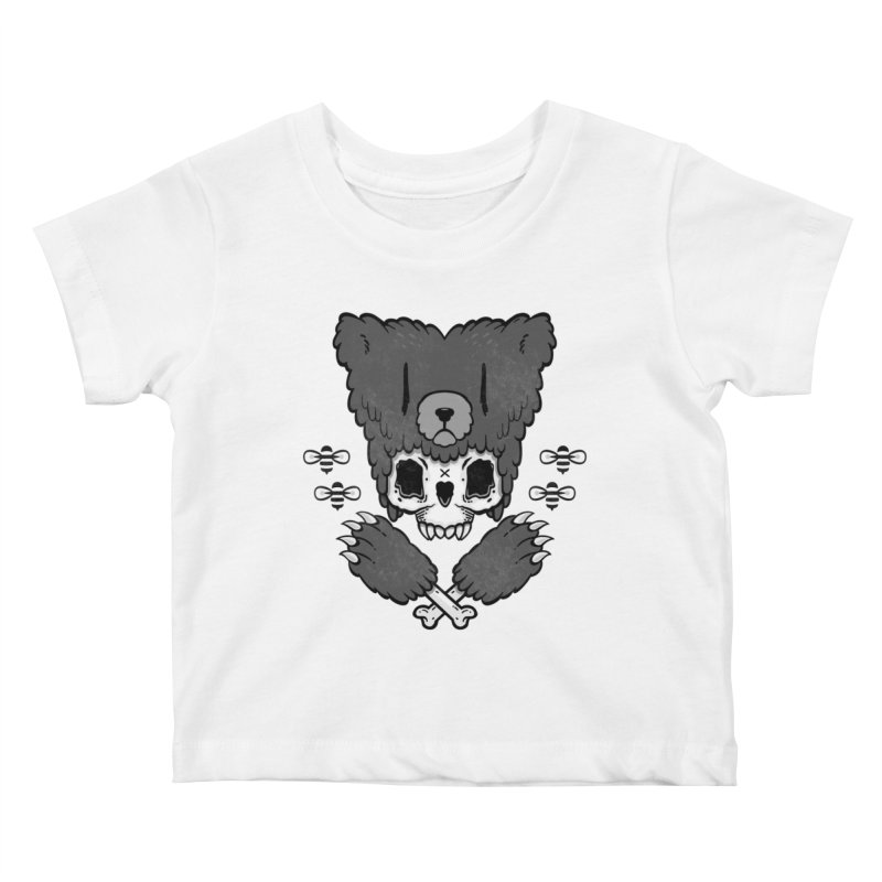 Grizzzly Kids Baby T-Shirt by Jayme T-shirts