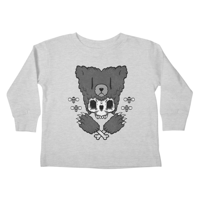 Grizzzly Kids Toddler Longsleeve T-Shirt by Jayme T-shirts