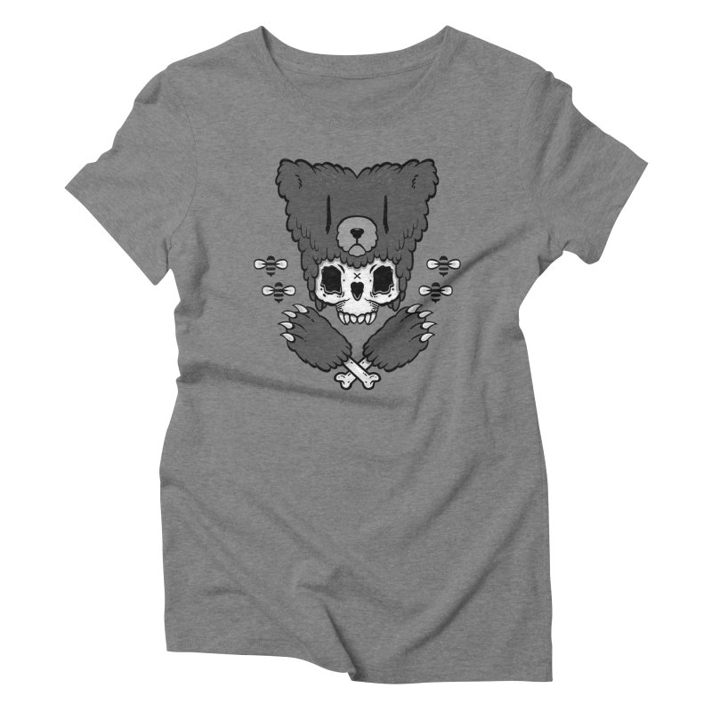 Grizzzly Women's Triblend T-Shirt by Jayme T-shirts