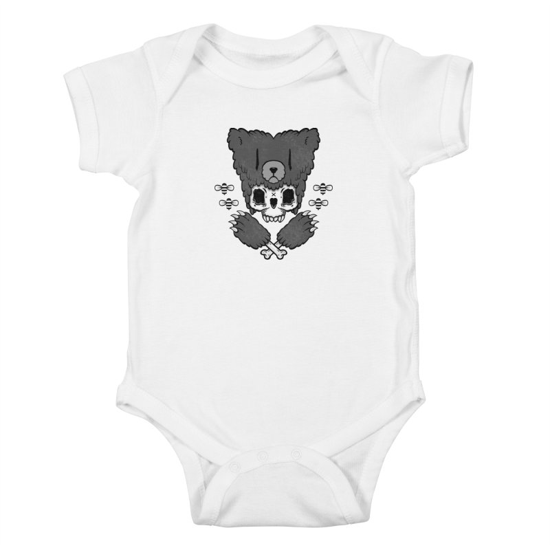 Grizzzly Kids Baby Bodysuit by Jayme T-shirts