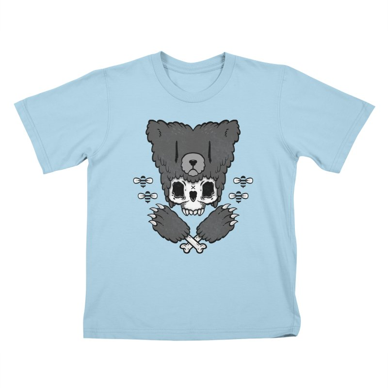 Grizzzly Kids T-Shirt by Jayme T-shirts