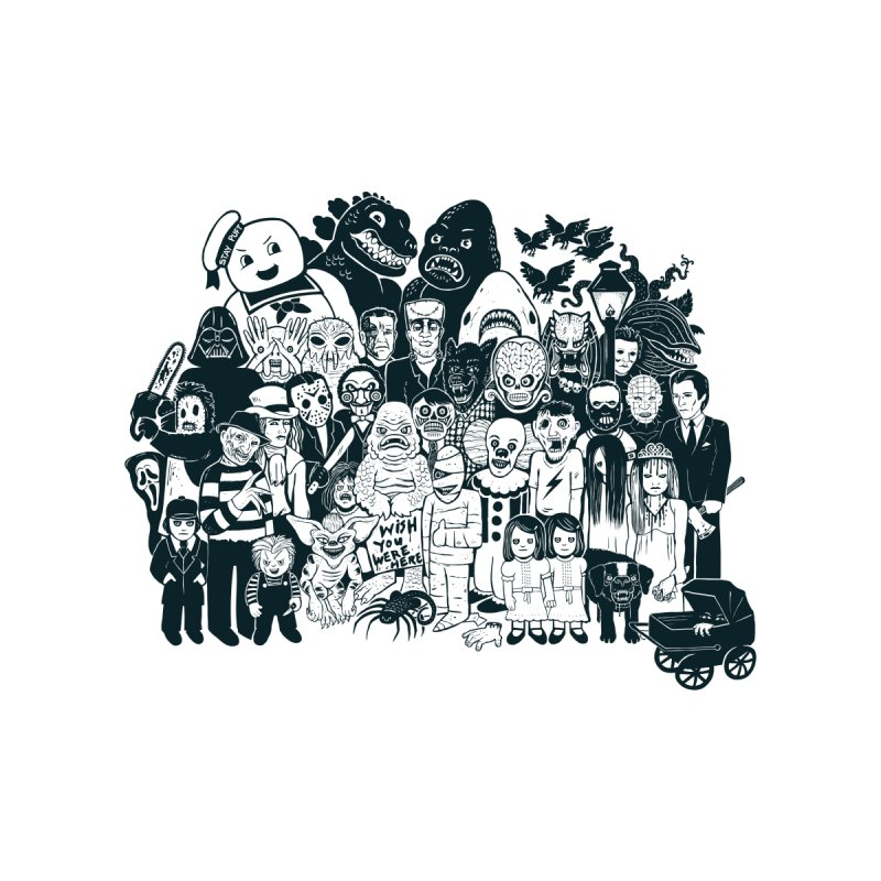 Monsters by Jayme T-shirts