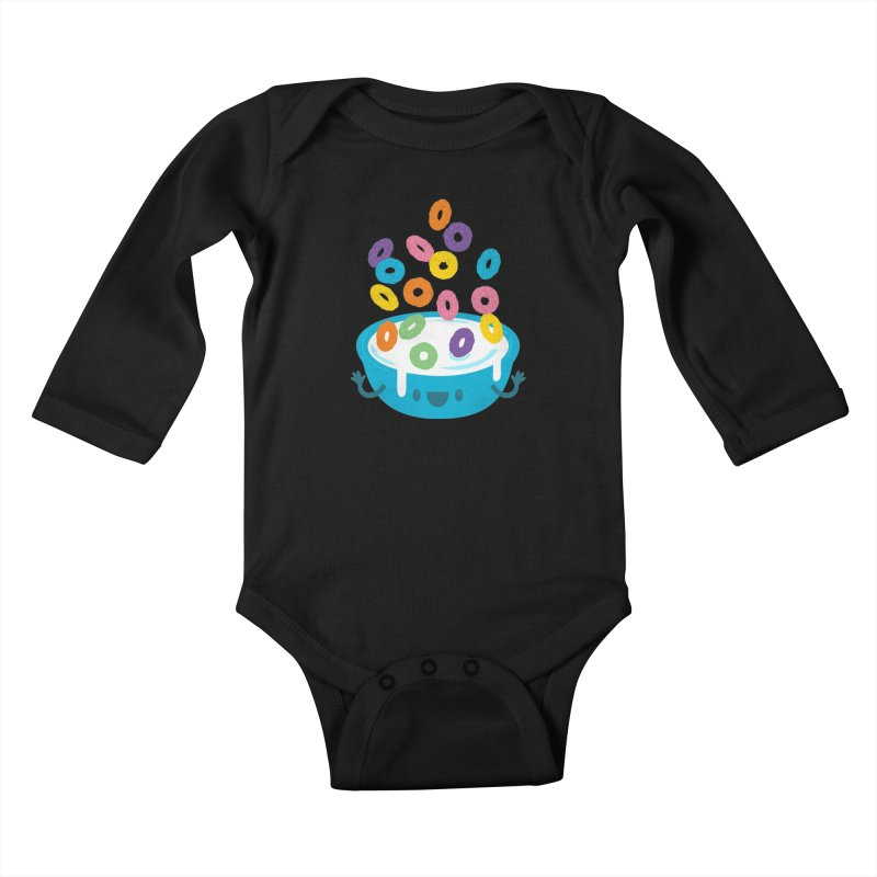 Good Morning! Kids Baby Longsleeve Bodysuit by Jayme T-shirts
