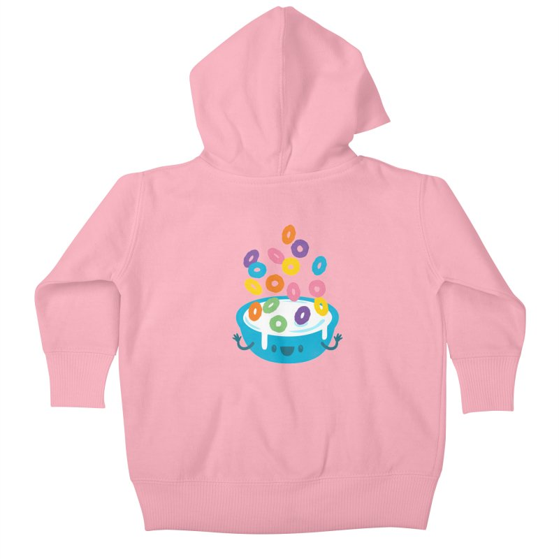 Good Morning! Kids Baby Zip-Up Hoody by Jayme T-shirts
