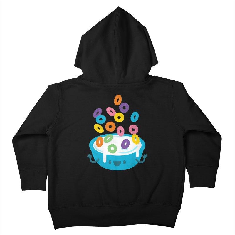 Good Morning! Kids Toddler Zip-Up Hoody by Jayme T-shirts
