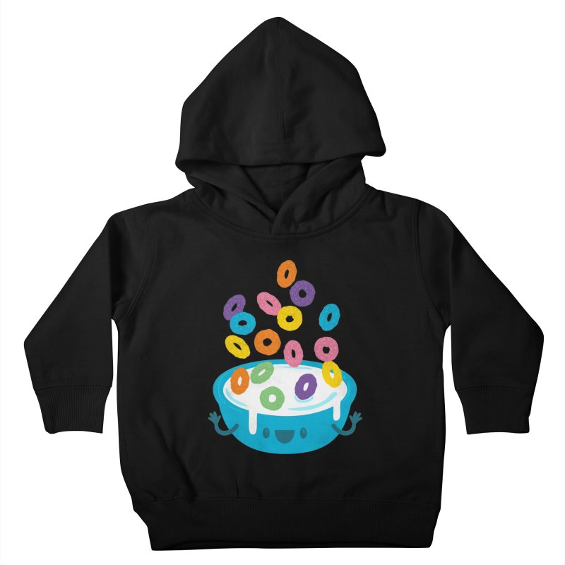 Good Morning! Kids Toddler Pullover Hoody by Jayme T-shirts