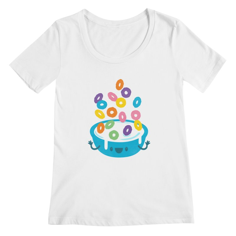 Good Morning! Women's Scoopneck by Jayme T-shirts