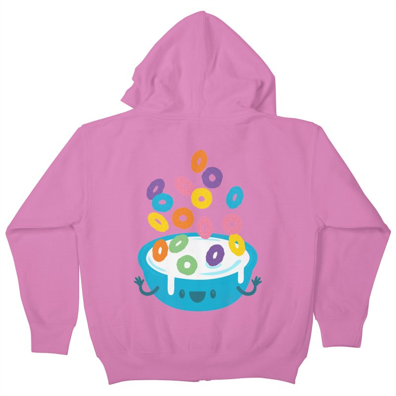 Good Morning! Kids Zip-Up Hoody by Jayme T-shirts