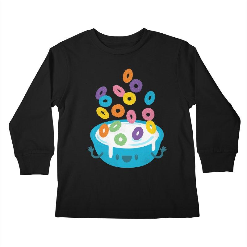 Good Morning! Kids Longsleeve T-Shirt by Jayme T-shirts