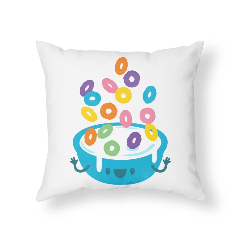 Good Morning! Home Throw Pillow by Jayme T-shirts