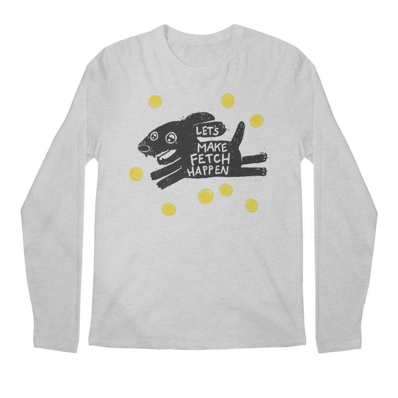 Fetch Men's Longsleeve T-Shirt by Jayme T-shirts