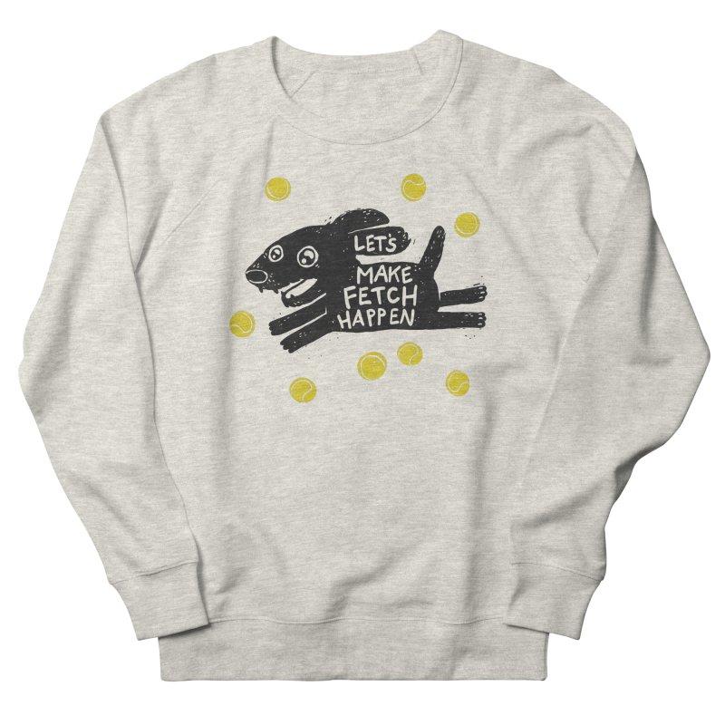 Fetch Men's Sweatshirt by Jayme T-shirts