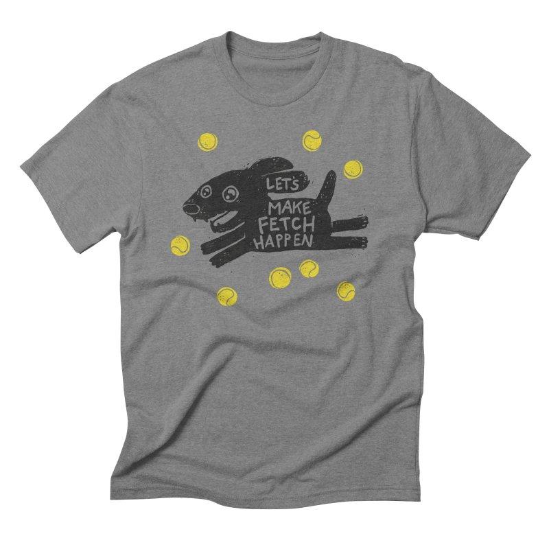 Fetch Men's Triblend T-Shirt by Jayme T-shirts