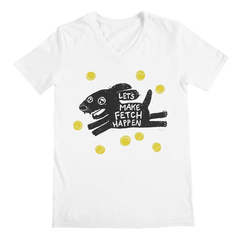 Fetch Men's V-Neck by Jayme T-shirts