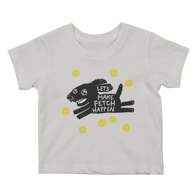 Fetch Kids Baby T-Shirt by Jayme T-shirts