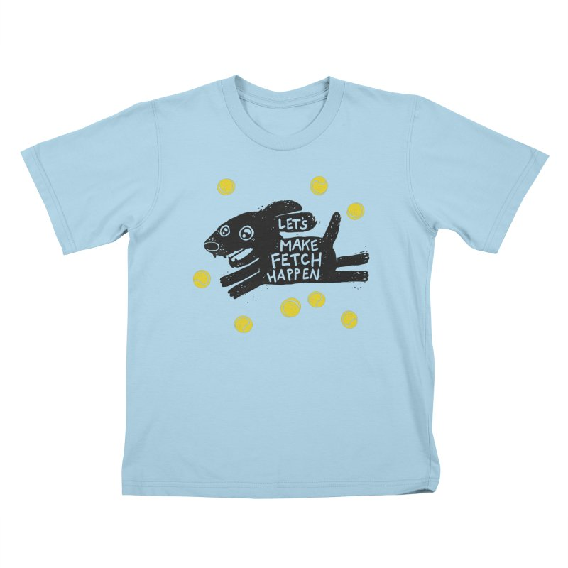 Fetch Kids T-Shirt by Jayme T-shirts